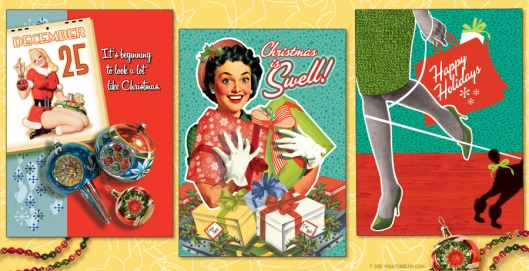 Fashion Christmas Cards From whatsbuzzin.com