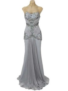 Blue Velvet Vintage Hollywood Dress
