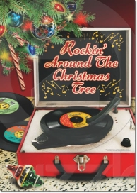Rockin' Around The Christmas Tree Invitation